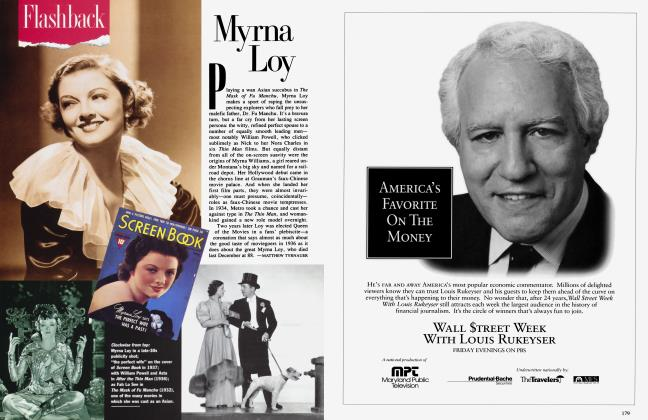 Article Preview: Myrna Loy, March 1994 1994 | Vanity Fair