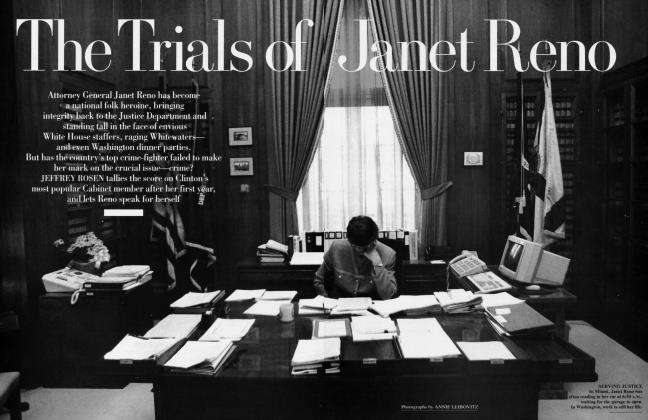 Article Preview: The Trials of Janet Reno, April 1994 1994 | Vanity Fair