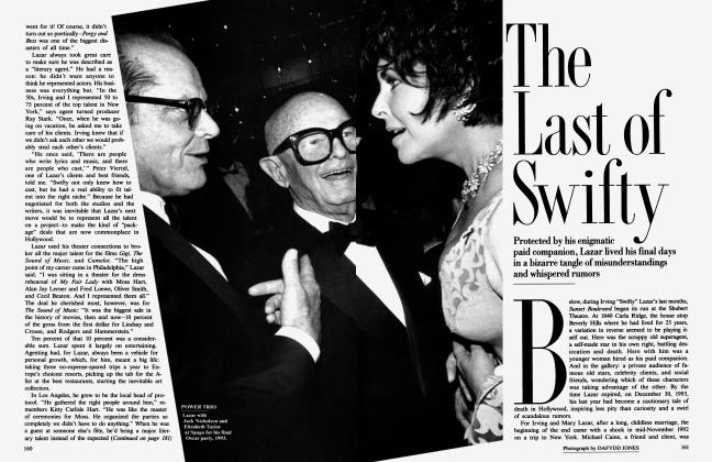 Article Preview: The Last of Swifty, April 1994 1994 | Vanity Fair