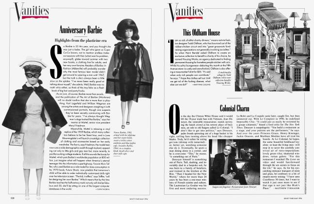 Article Preview: Anniversary Barbie, May 1994 1994 | Vanity Fair