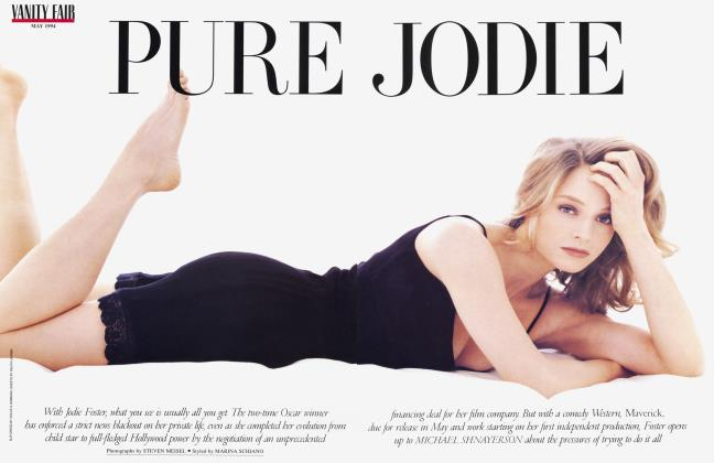 Article Preview: PURE JODIE, May 1994 1994 | Vanity Fair