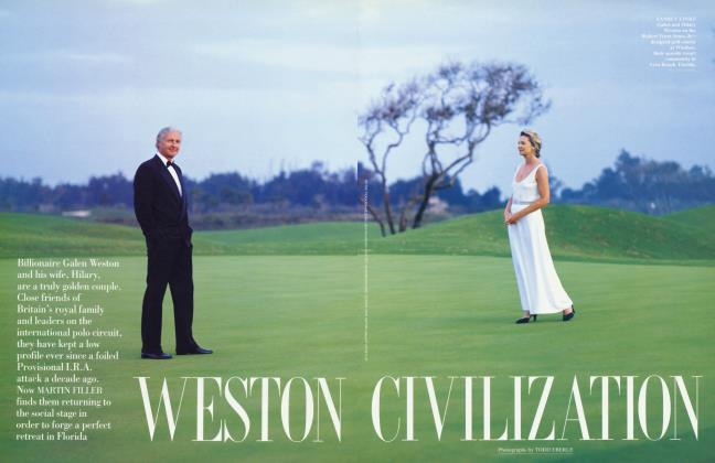 Article Preview: WESTON CIVILIZATION, May 1994 | Vanity Fair