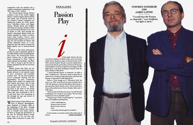 Article Preview: Passion Play, May 1994 1994 | Vanity Fair