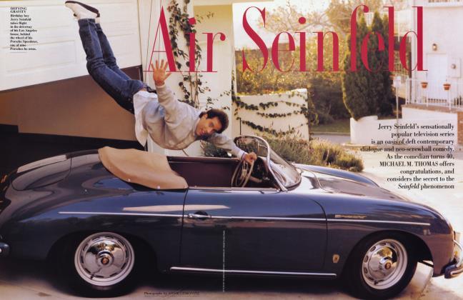 Article Preview: Air Seinfeld, May 1994 1994 | Vanity Fair