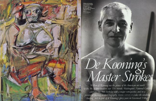 Article Preview: De Kooning's Master Strokes, May 1994 1994 | Vanity Fair