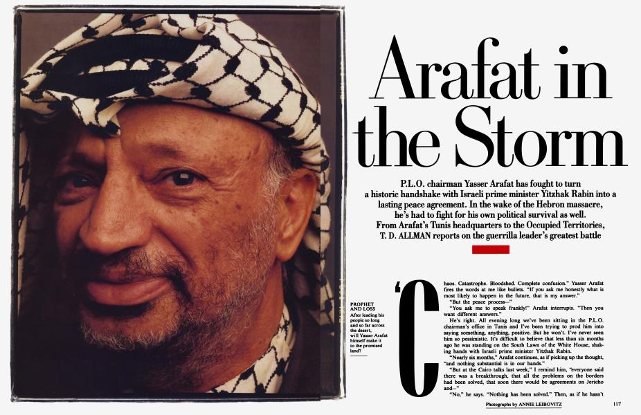 Arafat in the Storm
