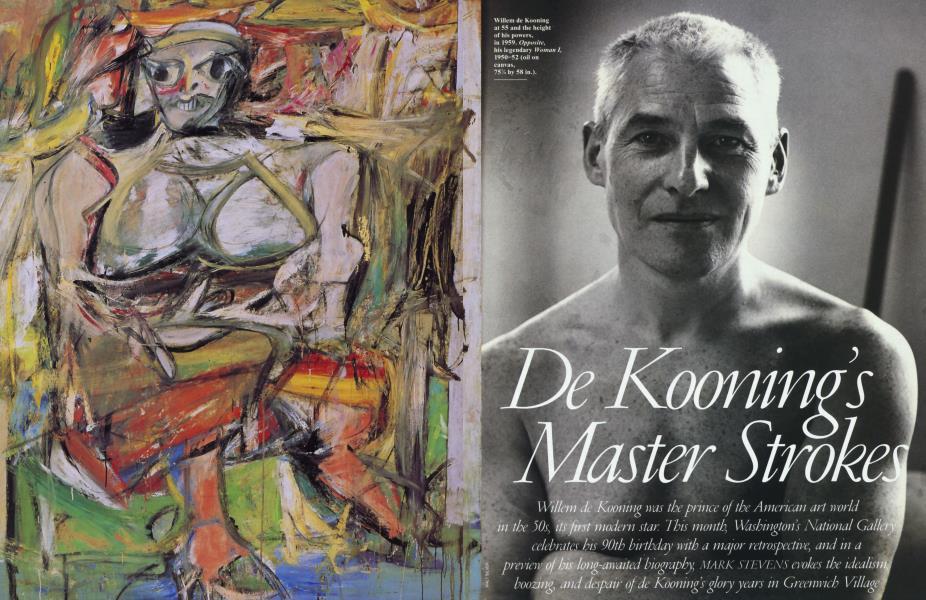 De Kooning's Master Strokes