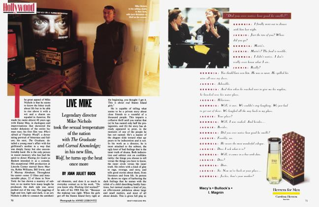 Article Preview: LIVE MIKE, June 1994 1994 | Vanity Fair