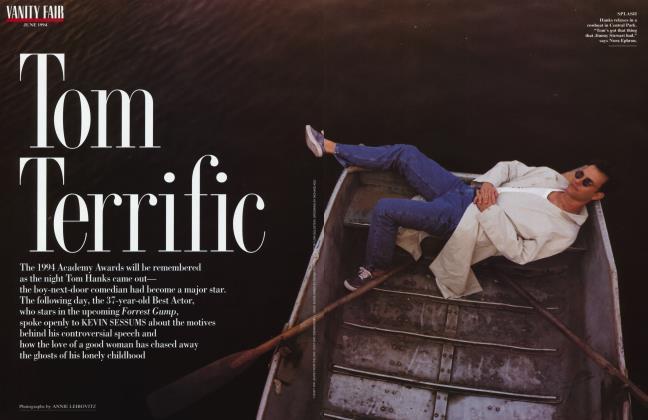 Article Preview: Tom Terrific, June 1994 1994 | Vanity Fair