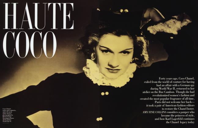 Article Preview: HAUTE COCO, June 1994 1994   Vanity Fair