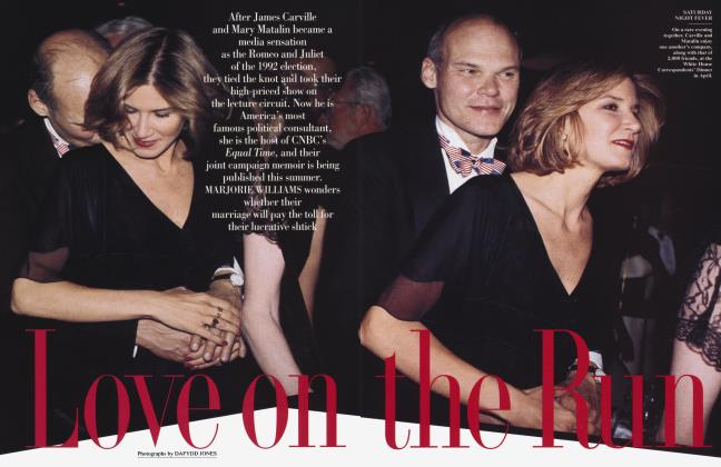 Article Preview: Love on the Run, July 1994 1994 | Vanity Fair