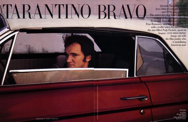 Article Preview: TARANTINO BRAVO, July 1994 | Vanity Fair