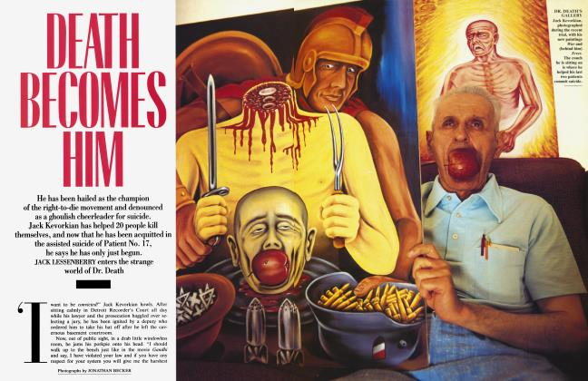 Article Preview: DEATH BECOMES HIM, July 1994 | Vanity Fair