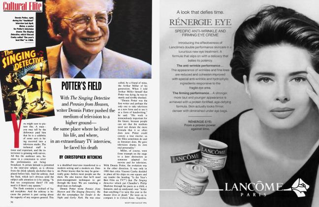 Article Preview: POTTER'S FIELD, August 1994 1994 | Vanity Fair
