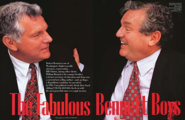 Article Preview: The Fabulous Bennett Boys, August 1994 1994 | Vanity Fair