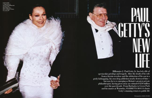 Article Preview: PAUL GETTY'S NEW LIFE, August 1994 1994 | Vanity Fair