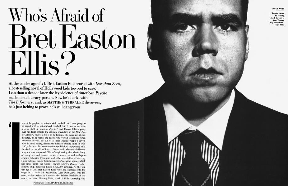 Who's Afraid of Bret Easton Ellis?