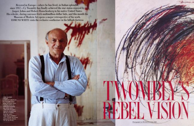 Article Preview: TWOMBLY'S REBEL VISION, September 1994 | Vanity Fair