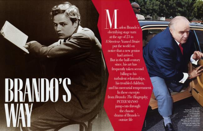 Article Preview: BRANDO'S WAY, September 1994 | Vanity Fair