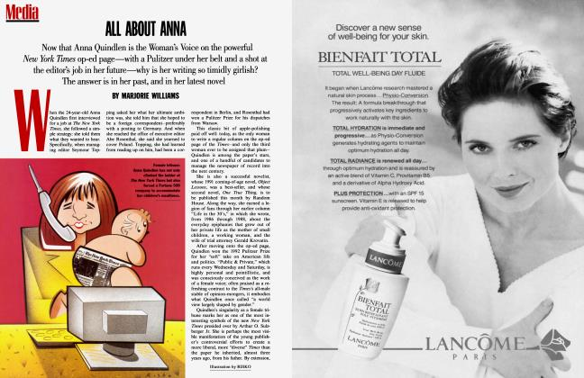 Article Preview: ALL ABOUT ANNA, September 1994 1994 | Vanity Fair