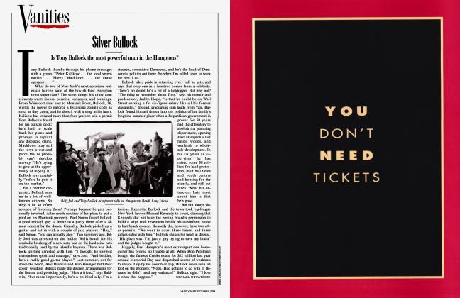 Article Preview: Silver Bullock, September 1994 1994   Vanity Fair