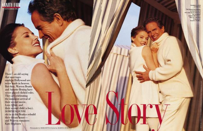 Article Preview: Love Story, September 1994 | Vanity Fair