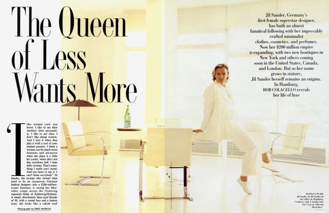Article Preview: The Queen of Less Wants More, October 1994 1994 | Vanity Fair