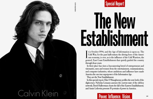 Article Preview: The New Establishment, October 1994 1994 | Vanity Fair
