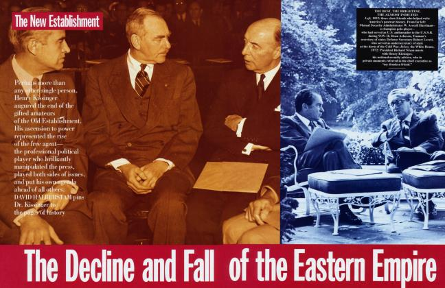 The Decline and Fall of the Eastern Empire