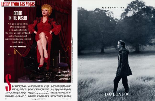 Article Preview: DEBBIE IN THE DESERT, October 1994 1994   Vanity Fair