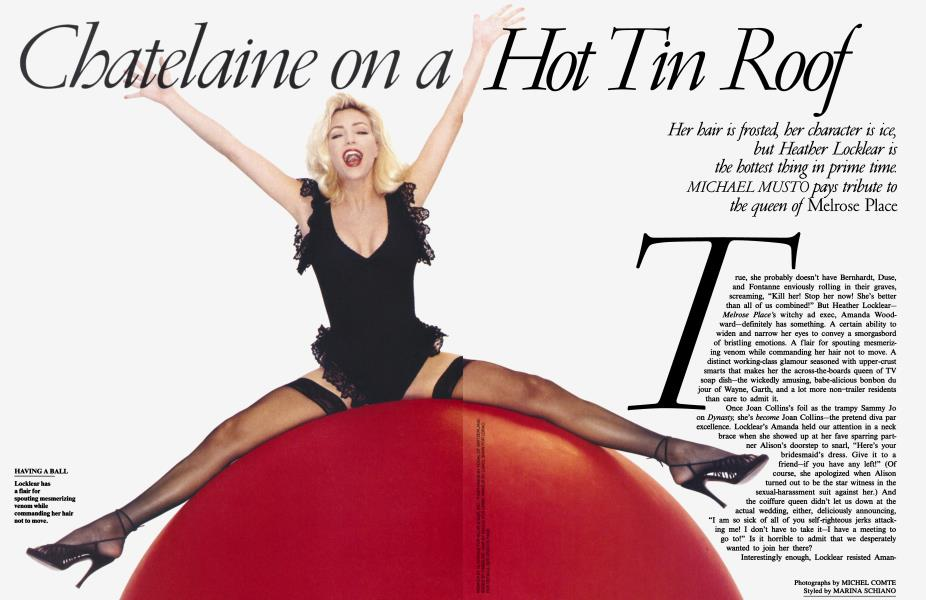 Chatelaine on a Hot Tin Roof