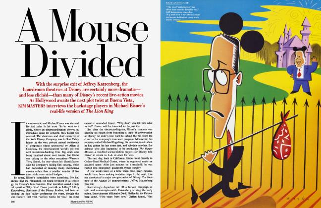 Article Preview: A Mouse Divided, November 1994 | Vanity Fair