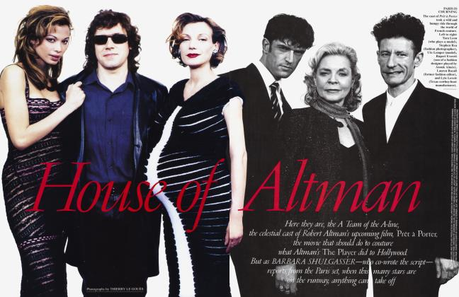 Article Preview: House of Altman, November 1994 | Vanity Fair