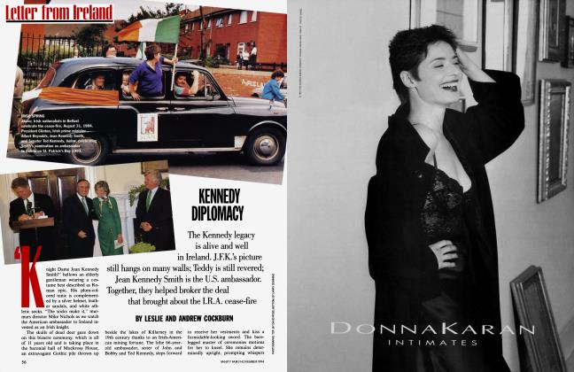 Article Preview: KENNEDY DIPLOMACY, November 1994 | Vanity Fair