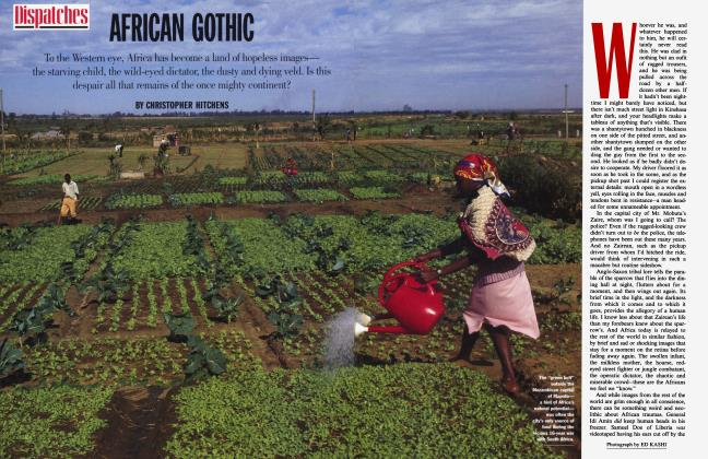 Article Preview: AFRICAN GOTHIC, November 1994 | Vanity Fair