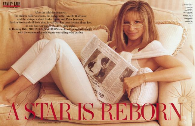 Article Preview: A STAR IS REBORN, November 1994 | Vanity Fair