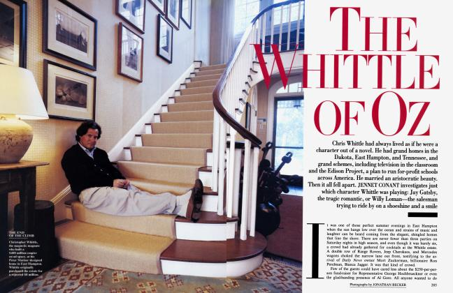 Article Preview: THE WHITTLE OF OZ, December 1994 1994 | Vanity Fair