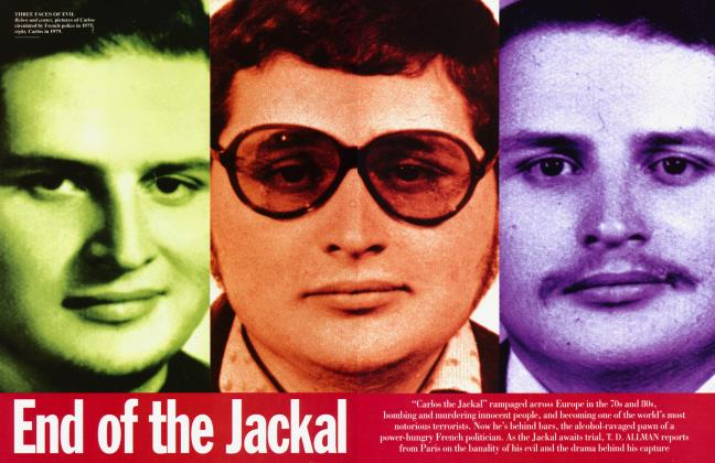 Article Preview: End of the Jackal, December 1994 1994 | Vanity Fair