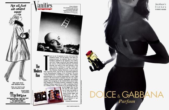 Article Preview: The Modern Dan, December 1994 1994   Vanity Fair