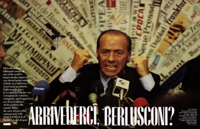 Article Preview: ARRIVEDERCI, BERLUSCONI?, January 1995 1995 | Vanity Fair