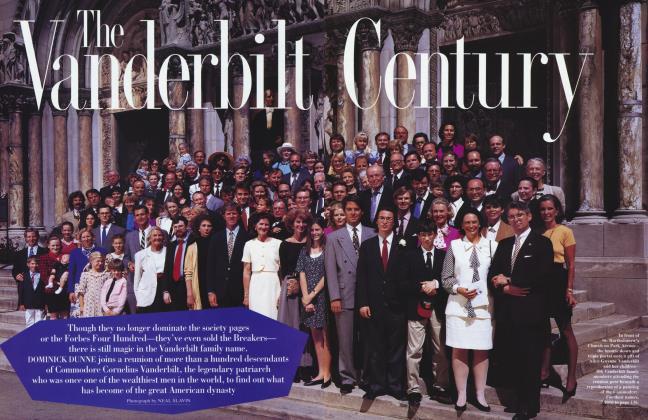 Article Preview: The Vanderbilt Century, January 1995 | Vanity Fair