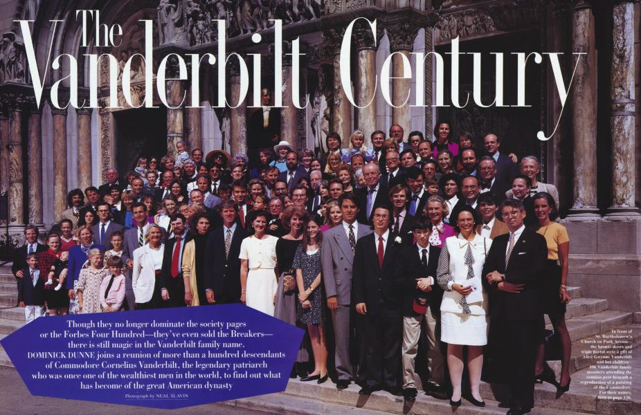 The Vanderbilt Century
