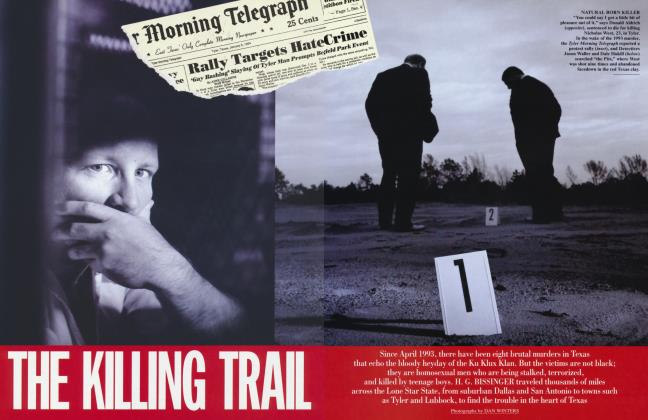Article Preview: THE KILING TRAIL, February 1995 1995 | Vanity Fair