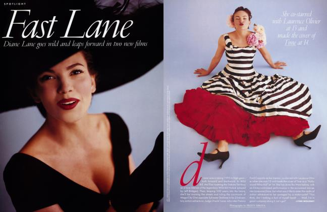 Article Preview: Fast Lane, February 1995 1995 | Vanity Fair