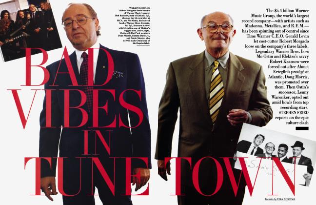 Article Preview: BAD VIBES IN TUNE TOWN, February 1995 | Vanity Fair