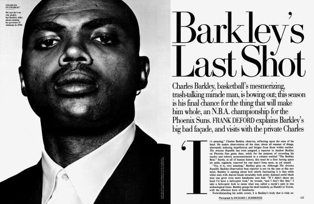 Article Preview: Barkley's Last Shot, February 1995 | Vanity Fair