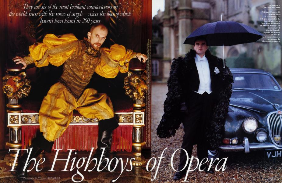 The Highboys of Opera