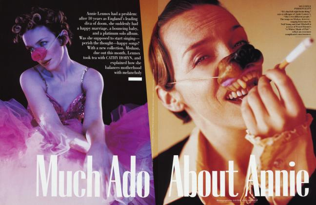 Article Preview: Much Ado About Annie, March 1995 1995 | Vanity Fair