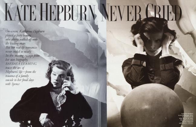 Article Preview: KATE HEPBURN NEVER CRIED, March 1995 | Vanity Fair