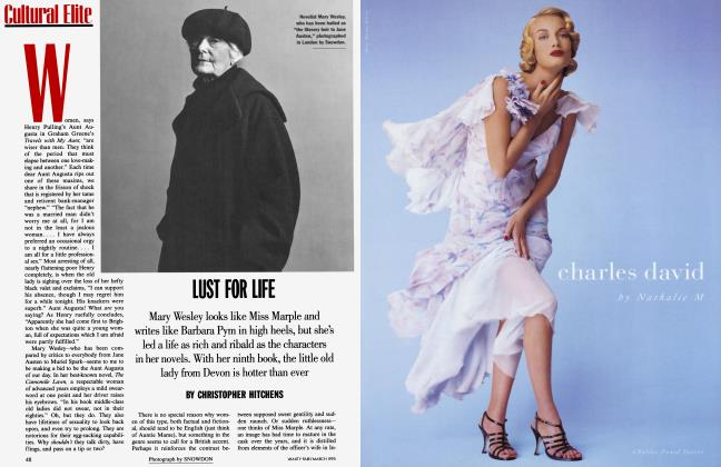 Article Preview: LUST FOR LIFE, March 1995 1995 | Vanity Fair